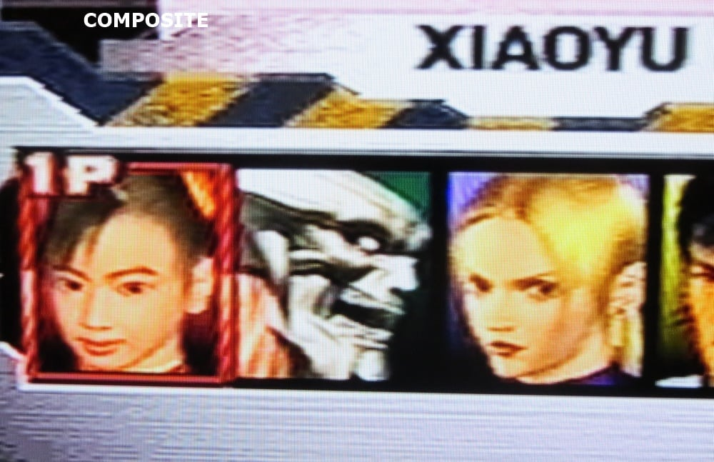 tekken 3 composite 5 - Jakość obrazu - Composite vs S-Video vs SCART RGB