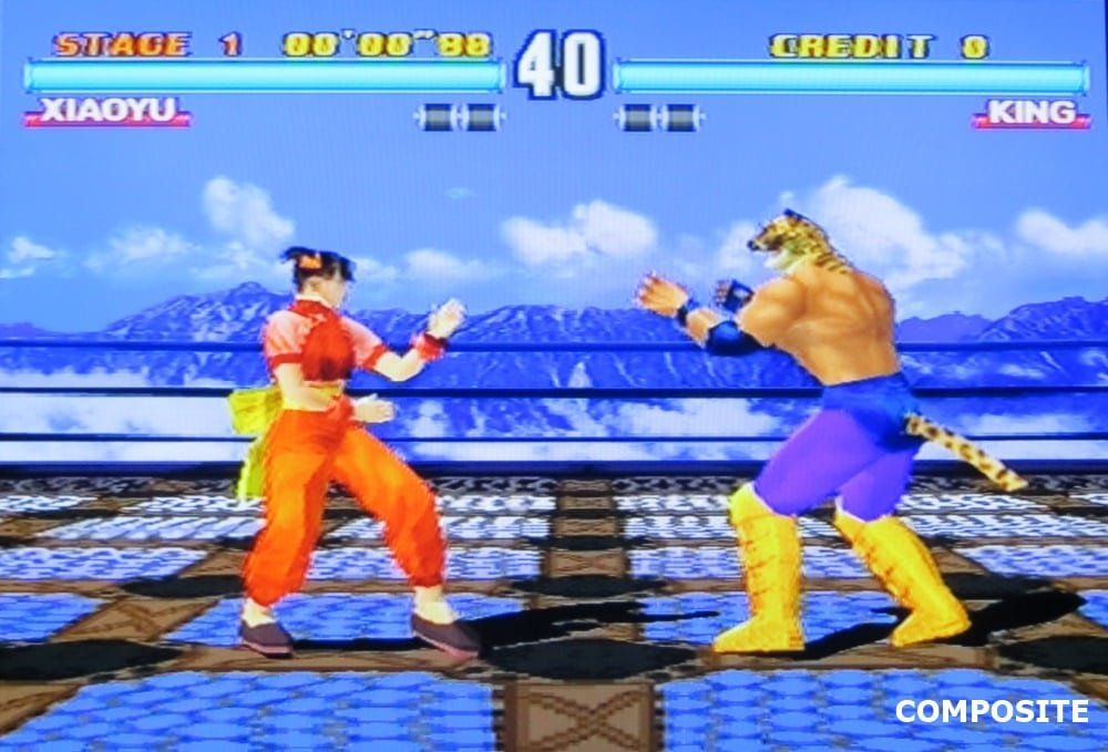 tekken 3 composite 7 - Jakość obrazu - Composite vs S-Video vs SCART RGB