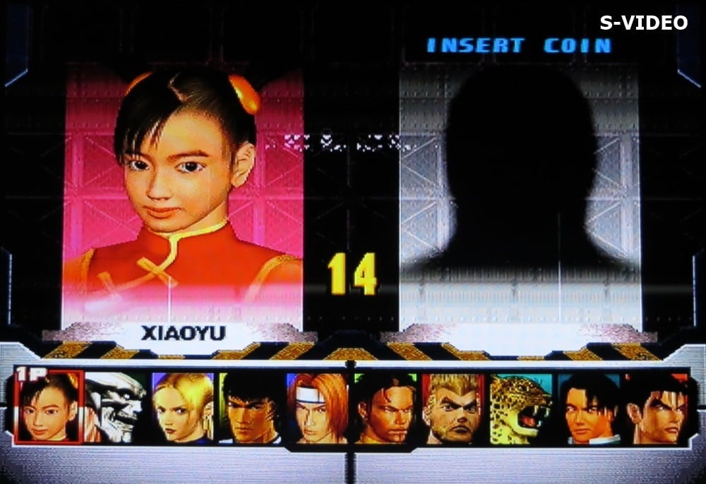tekken 3 svideo 4 - Jakość obrazu - Composite vs S-Video vs SCART RGB