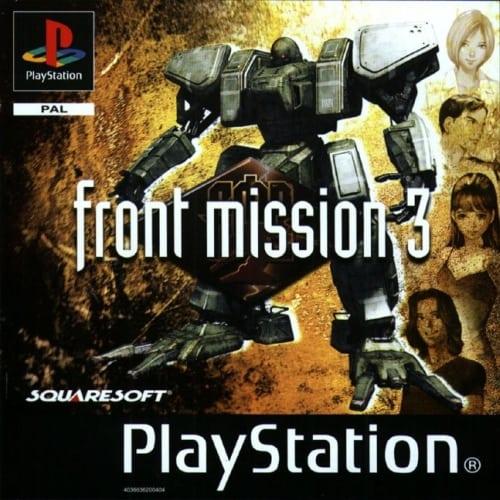 front mission 3 - Przegląd najlepszych gier RPG na PlayStation