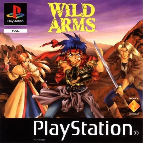 wild arms - Przegląd najlepszych gier RPG na PlayStation