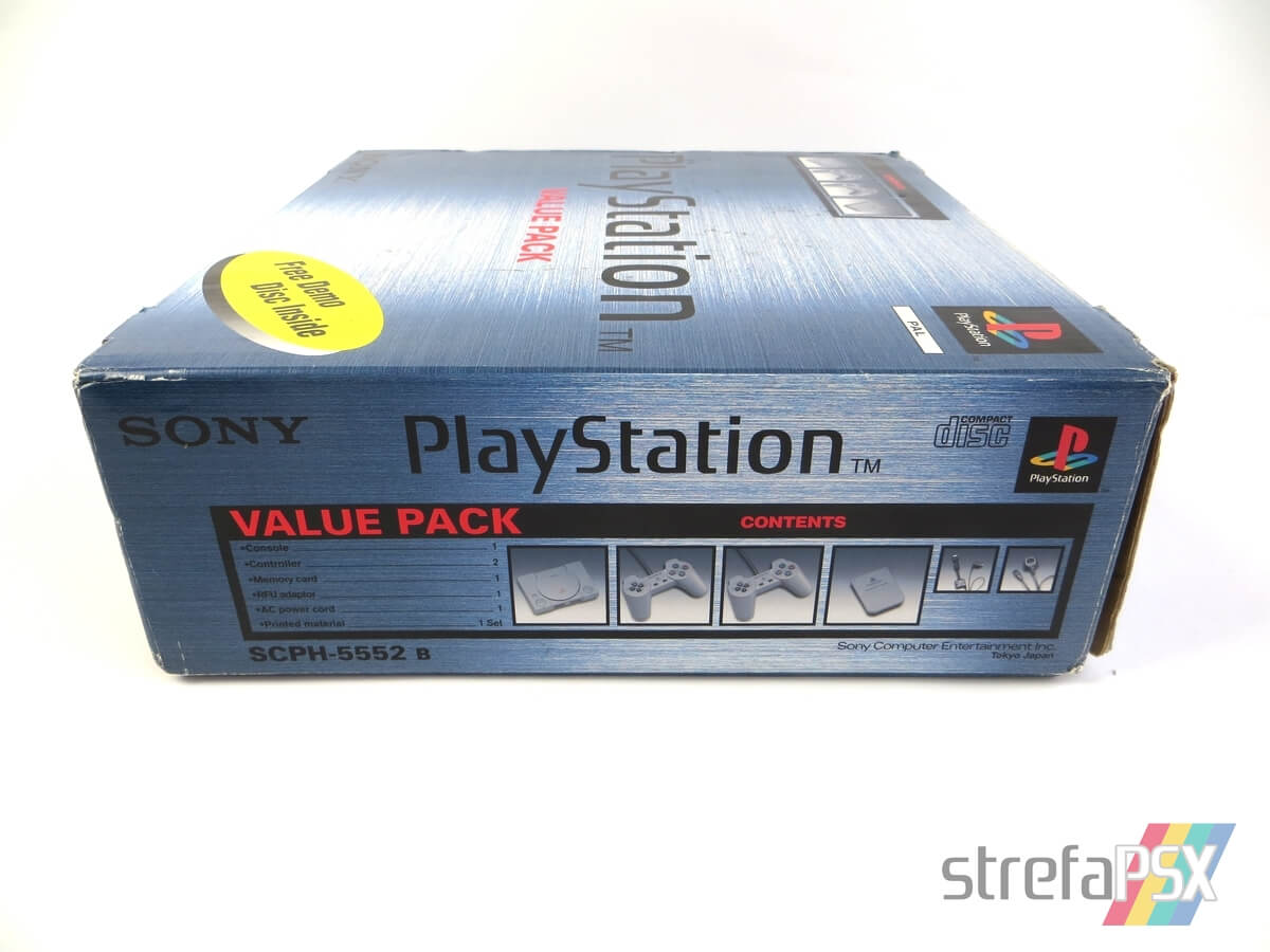 """playstation scph 5552 box 10 - [SCPH-5552] PlayStation """"Value Pack"""""""