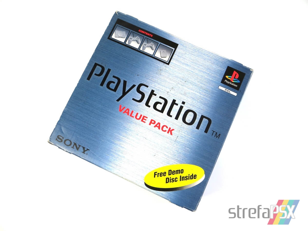 """playstation scph 5552 box 3 - [SCPH-5552] PlayStation """"Value Pack"""""""