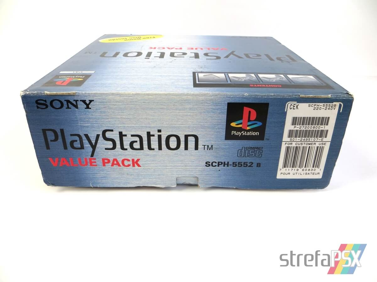 """playstation scph 5552 box 7 - [SCPH-5552] PlayStation """"Value Pack"""""""