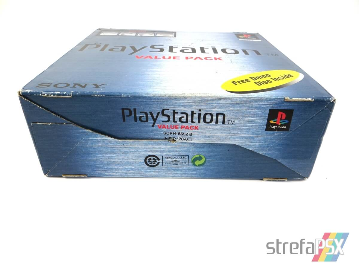 """playstation scph 5552 box 9 - [SCPH-5552] PlayStation """"Value Pack"""""""