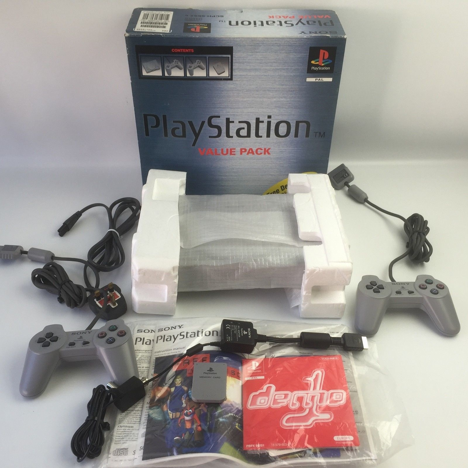 """scph 5552 full - [SCPH-5552] PlayStation """"Value Pack"""""""