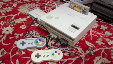 nintendo playstation sfx 100 prototype 384x220 - Rozkład na części pierwsze i naprawa Nintendo PlayStation