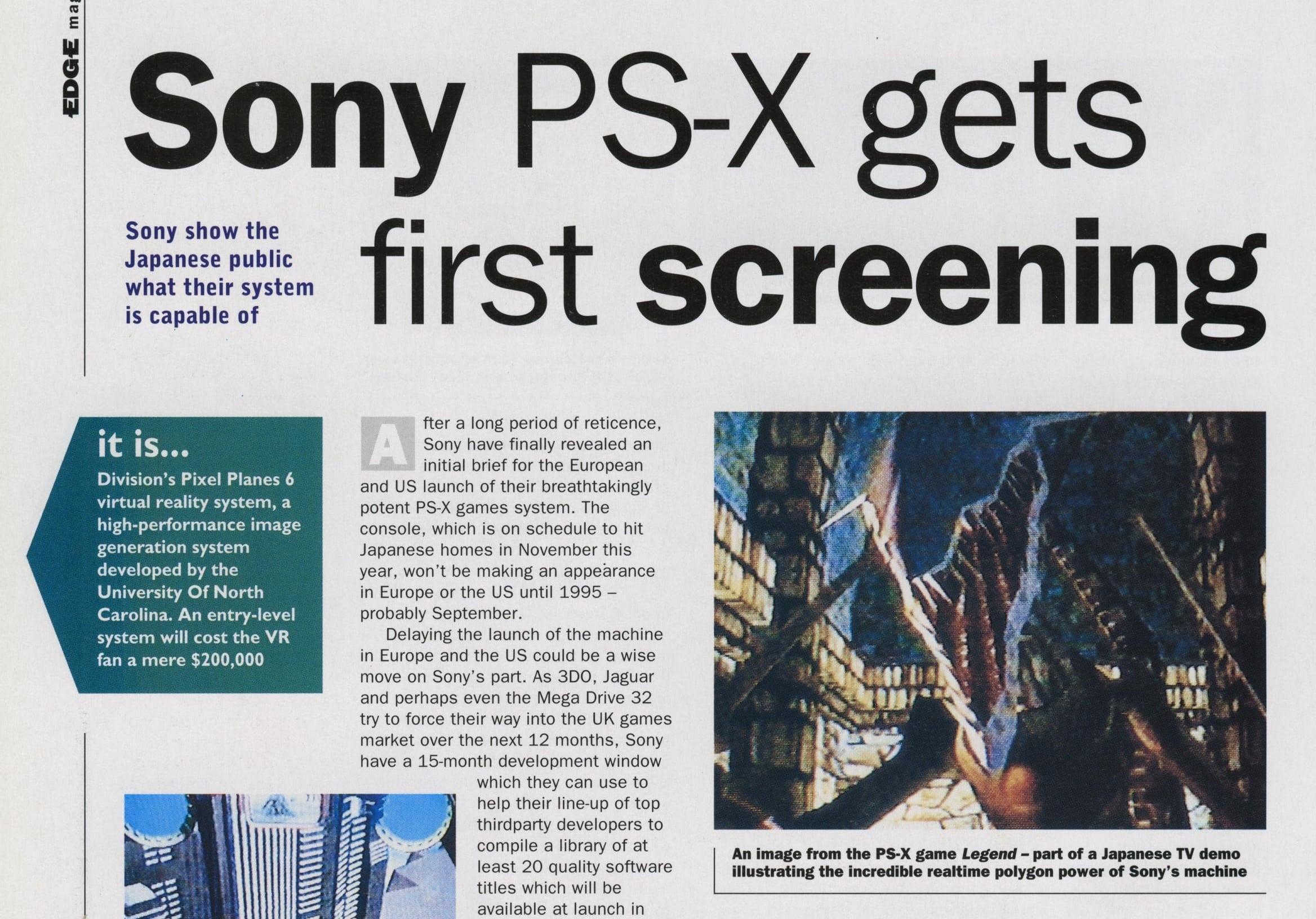 edge 3 - Historia skrótów - PSX czy PS1?