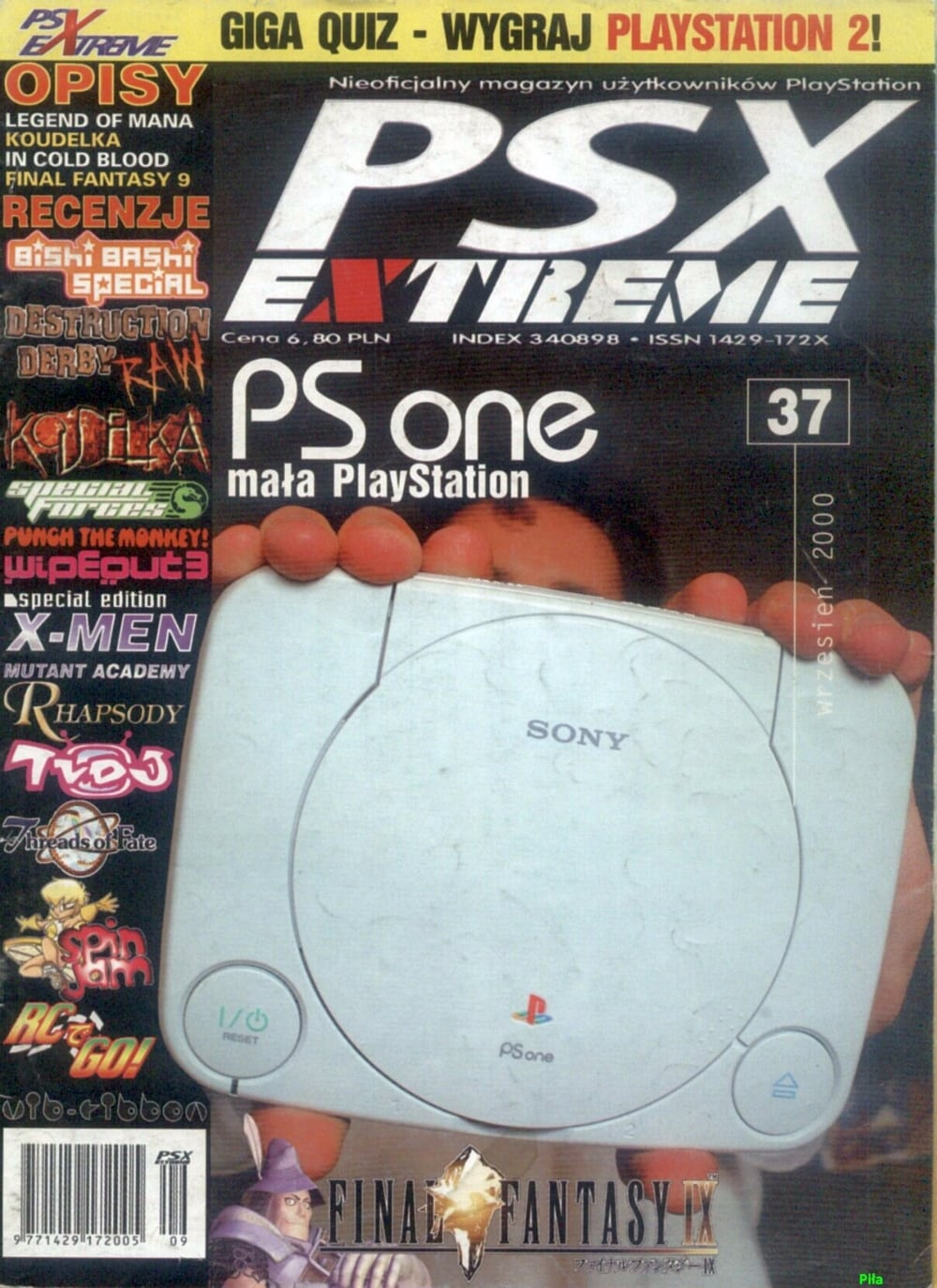 psx extreme cover - Historia skrótów - PSX czy PS1?