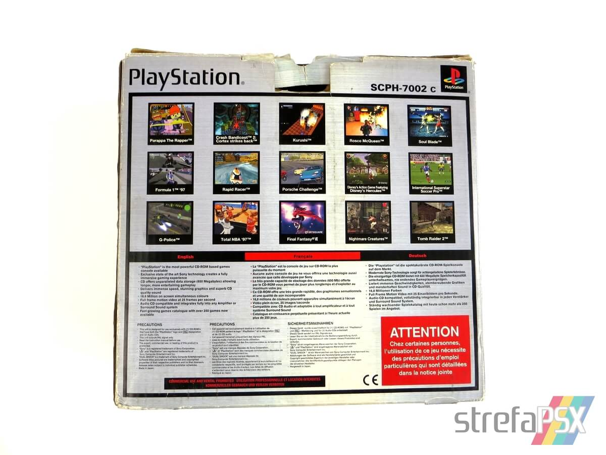 "playstation scph 7002 box 4 - [SCPH-7002] PlayStation ""Dual Shock"""