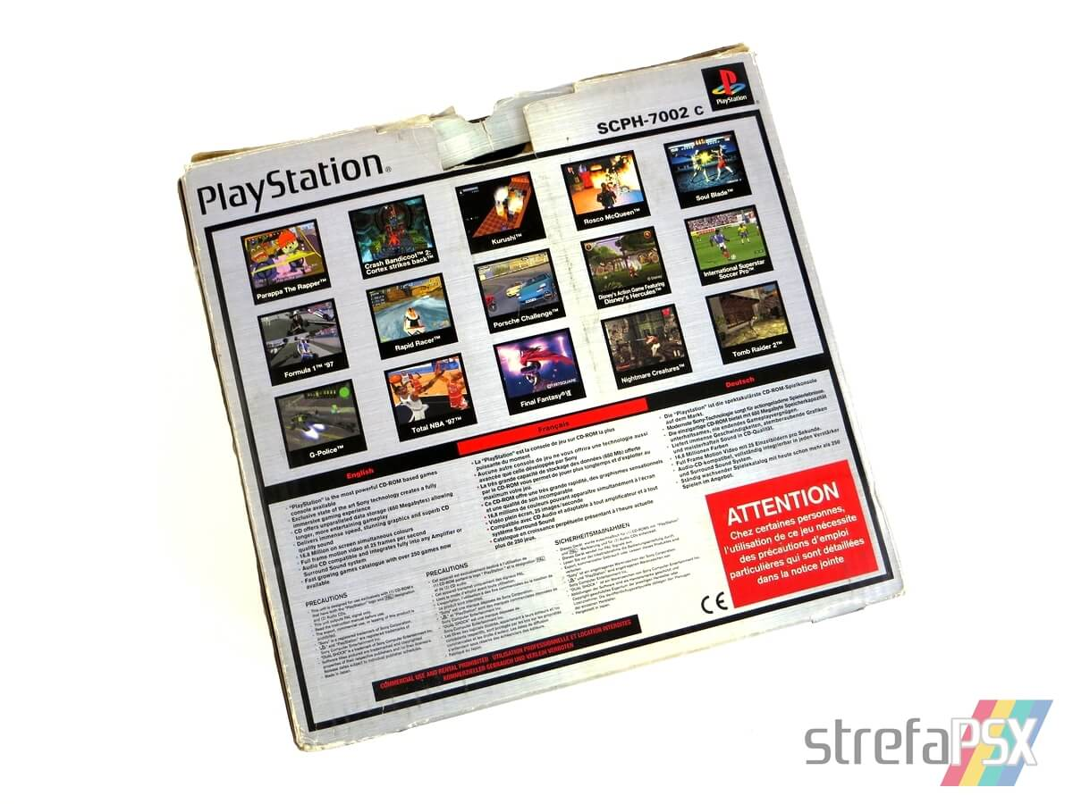 "playstation scph 7002 box 5 - [SCPH-7002] PlayStation ""Dual Shock"""