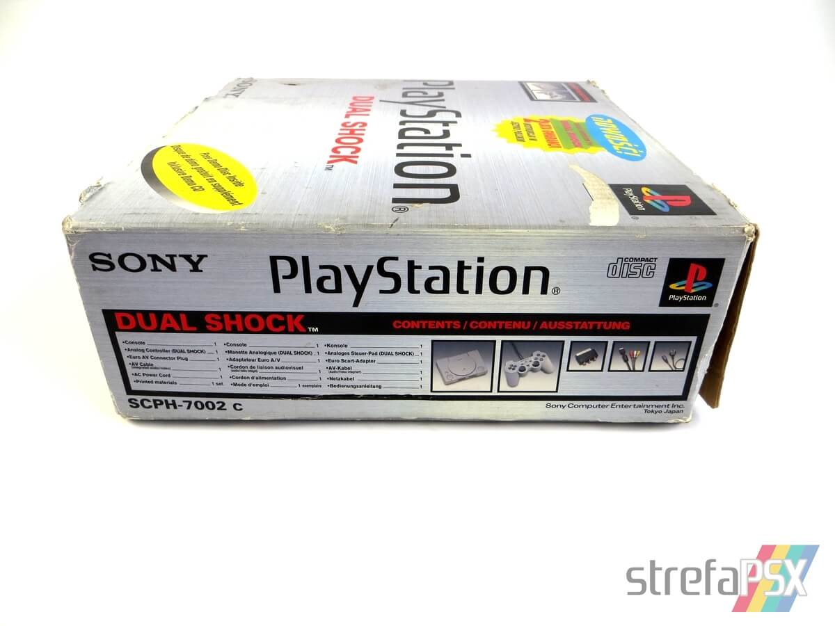 "playstation scph 7002 box 9 - [SCPH-7002] PlayStation ""Dual Shock"""