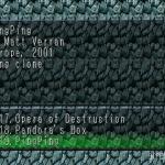 Ping Ping 1 150x150 - Przegląd gier stworzonych za pomocą Net Yaroze