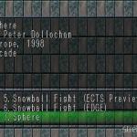 Sphere 1 1 150x150 - Przegląd gier stworzonych za pomocą Net Yaroze
