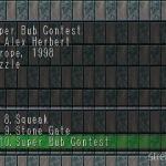 Super Bub Contest 1 150x150 - Przegląd gier stworzonych za pomocą Net Yaroze