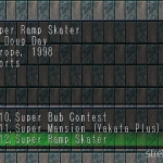 Super Ramp Skater 1 150x150 - Przegląd gier stworzonych za pomocą Net Yaroze