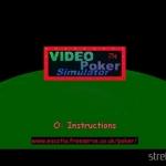 Video Poker Simulator 3 150x150 - Przegląd gier stworzonych za pomocą Net Yaroze