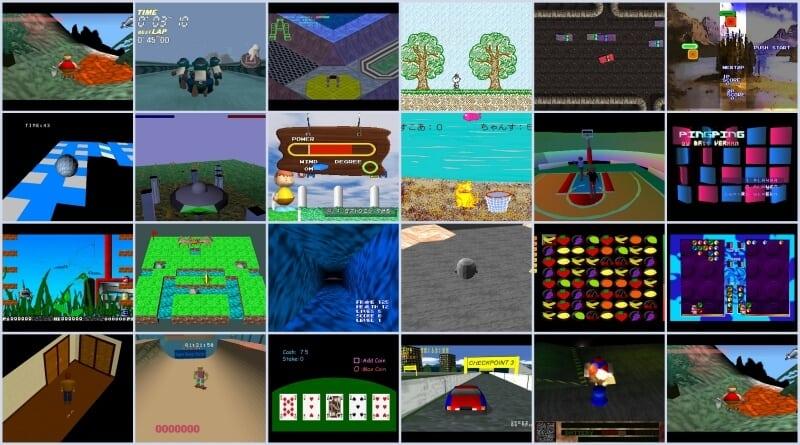 przeglad gier net yaroze - Przegląd gier stworzonych za pomocą Net Yaroze