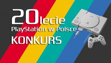 20lecie baner konkurs 384x220 - KONKURS #2 - Wspomnienie związane z pierwszym PlayStation