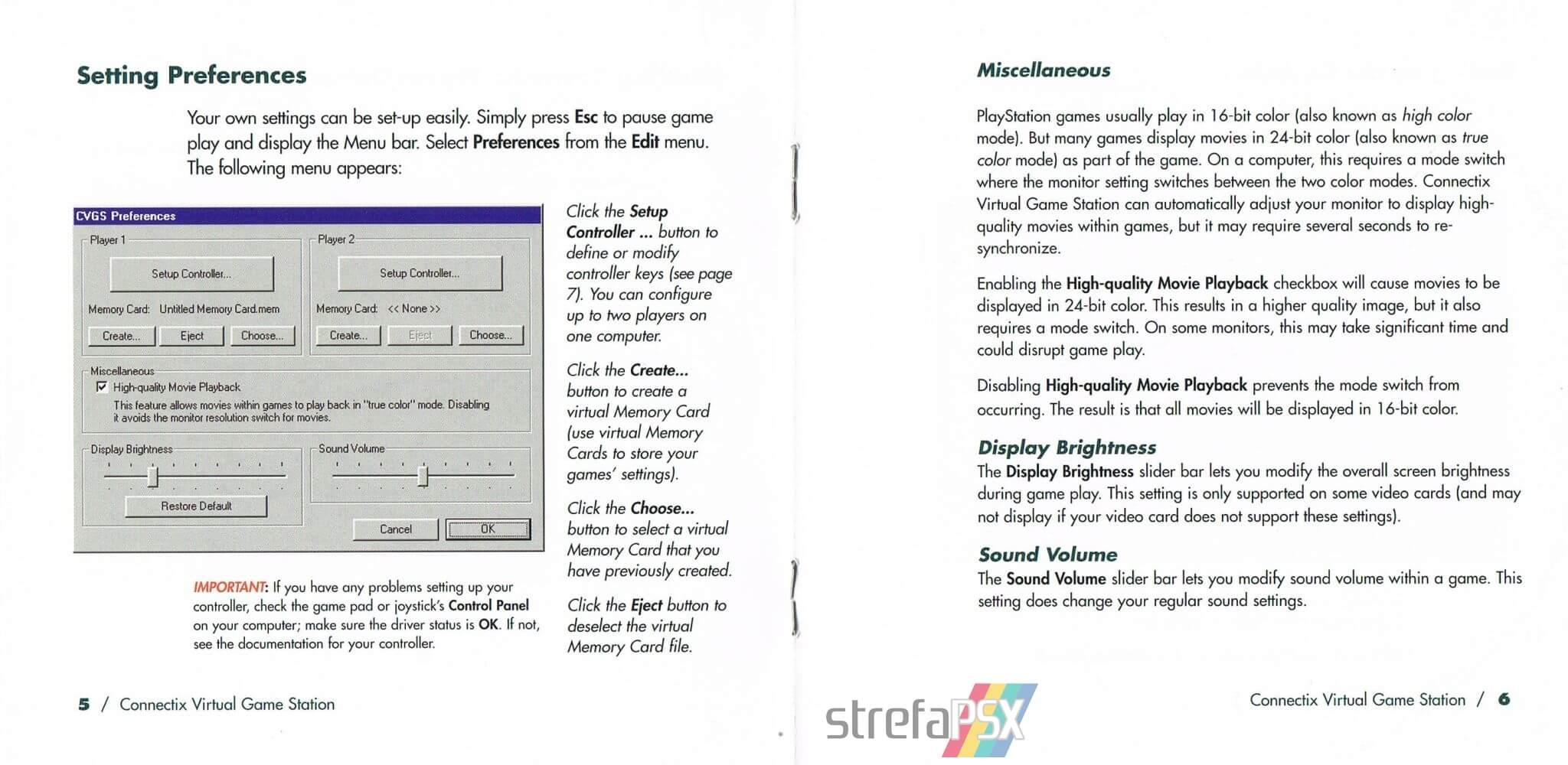 connectix virtual game station 04 - Burzliwa historia emulatora Connectix Virtual Game Station