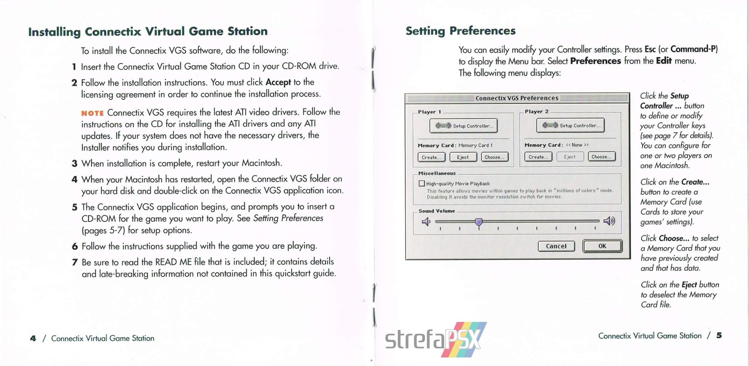 connectix virtual game station 07 - Burzliwa historia emulatora Connectix Virtual Game Station