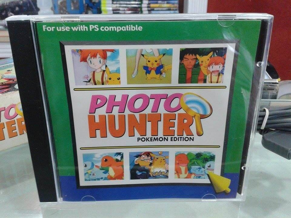 Opakowanie gry Photo Hunter Pokémon Edition na PlayStation