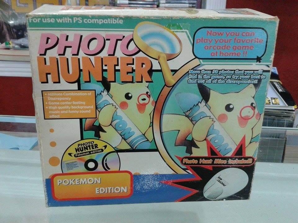 photo hunter pokemon edition playstation04 - Pierwsza i jedyna gra z Pokémonami na PlayStation