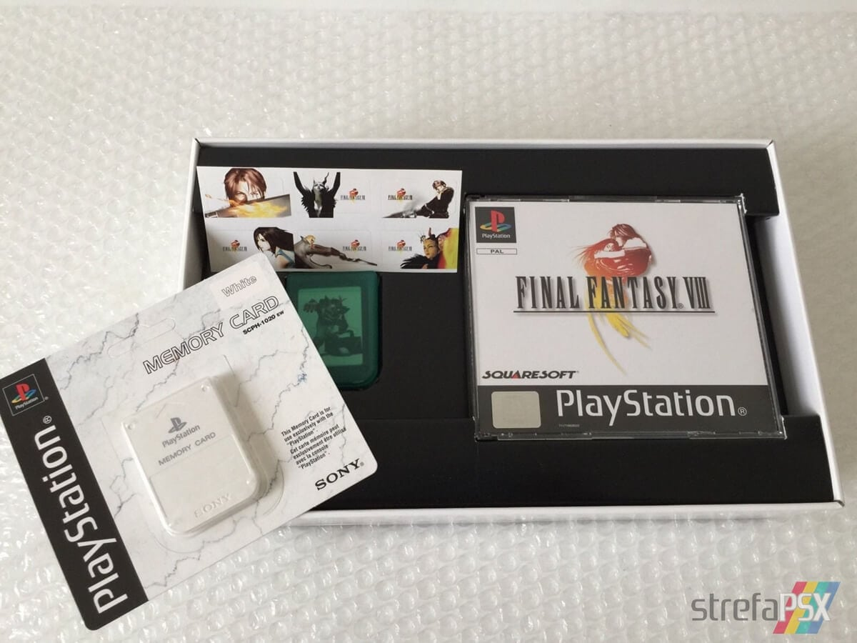 final fantasy viii limited edition02 - Kolekcjonerskie wydania gier - Final Fantasy VIII Limited Edition