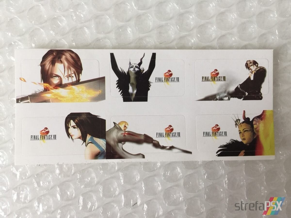 final fantasy viii limited edition06 - Kolekcjonerskie wydania gier - Final Fantasy VIII Limited Edition