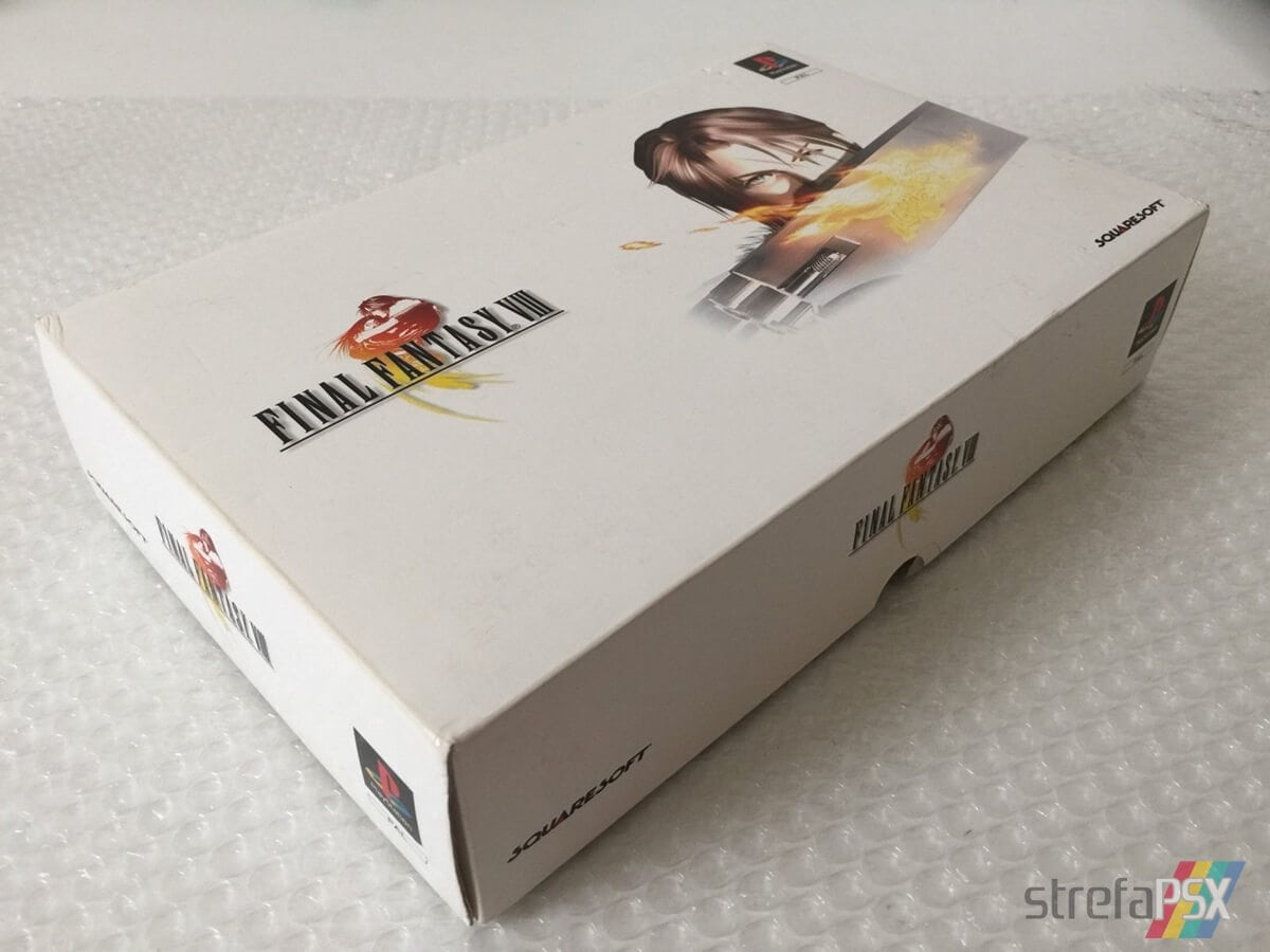 final fantasy viii limited edition08 - Kolekcjonerskie wydania gier - Final Fantasy VIII Limited Edition