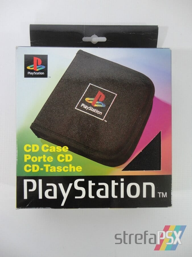 playstation cd case sleh 00013 01 - [SLEH-00013] Pokrowiec na płyty / CD Case