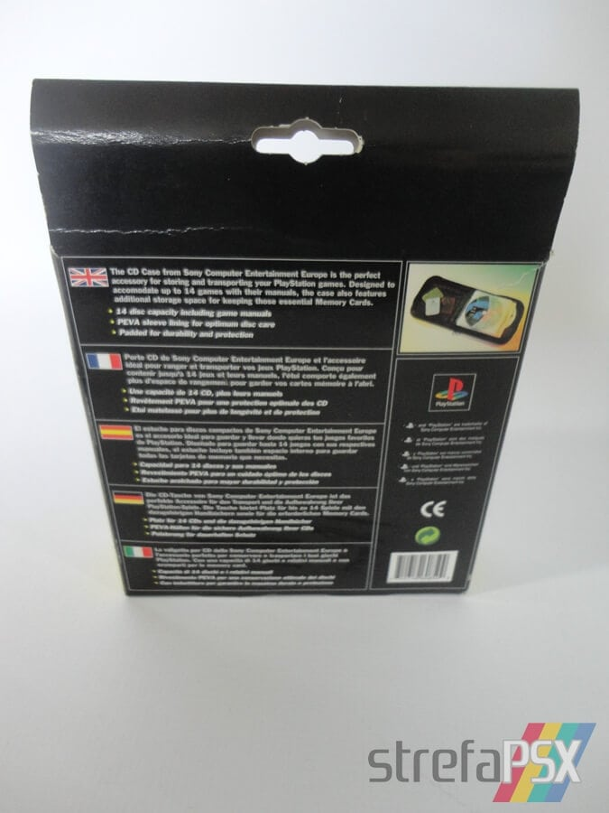 playstation cd case sleh 00013 07 - [SLEH-00013] Pokrowiec na płyty / CD Case