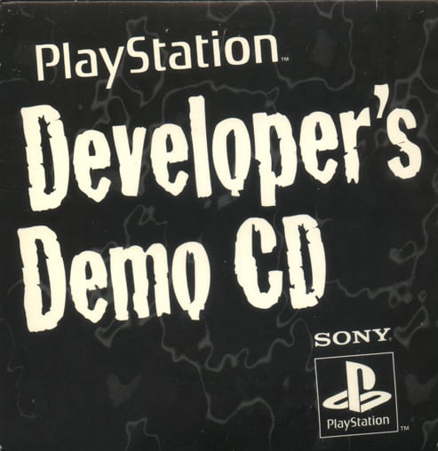 "developers demo cd psx - ""Hear It Now! Play It Later!"" - pierwszy krążek na PSX wydany poza Japonią"