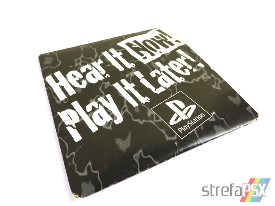 "play it now hear it later08 - ""Hear It Now! Play It Later!"" - pierwszy krążek na PSX wydany poza Japonią"