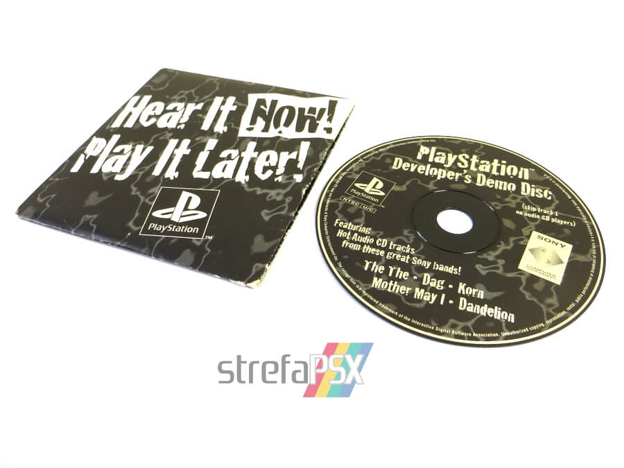"play it now hear it later12 - ""Hear It Now! Play It Later!"" - pierwszy krążek na PSX wydany poza Japonią"