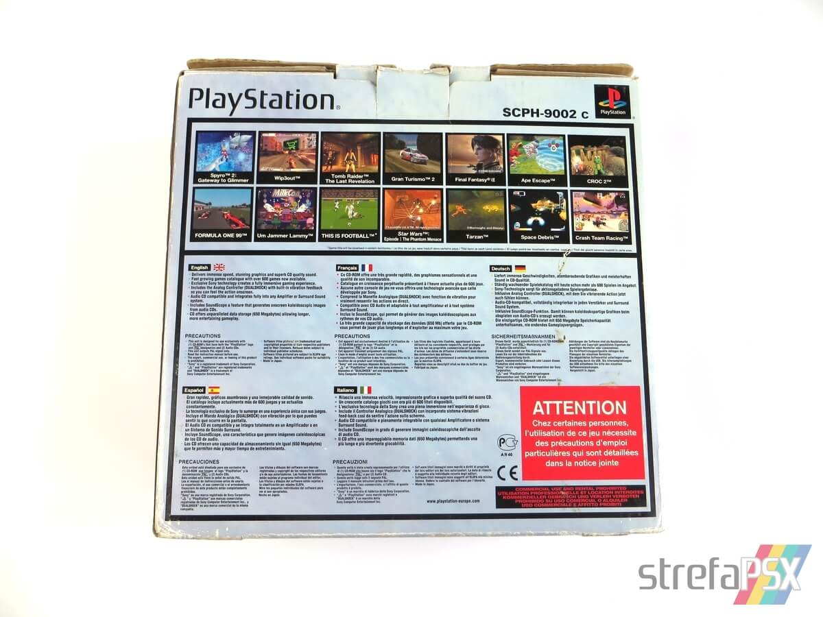 "playstation scph 9002 box 4 - [SCPH-9002] PlayStation ""Dual Shock"""