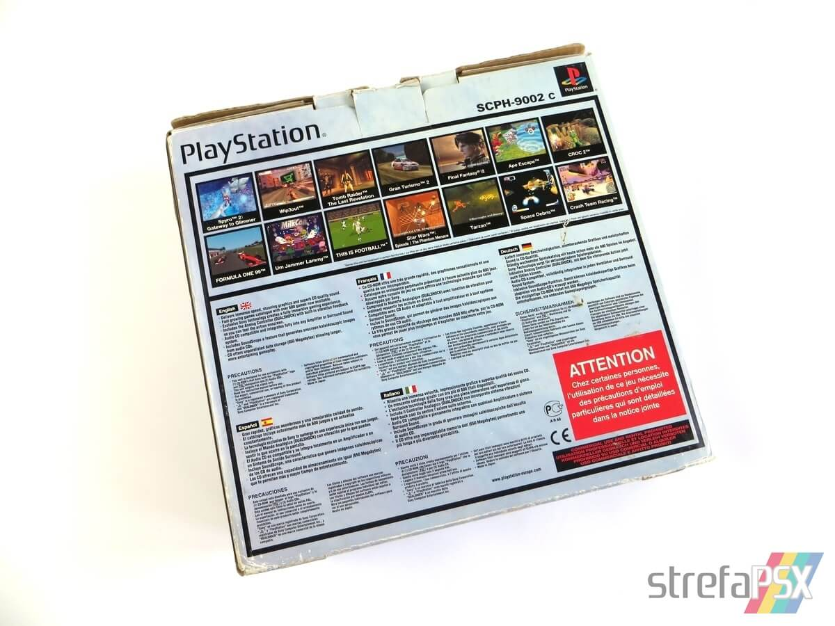 "playstation scph 9002 box 5 - [SCPH-9002] PlayStation ""Dual Shock"""