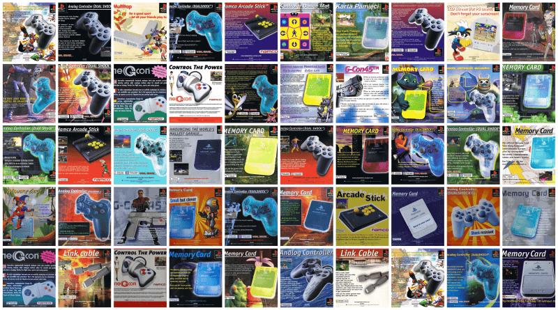 okladki baner - Reklamy akcesoriów w grach Sony