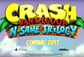 Crash Bandicoot N Sane Trilogy 320x220 - Crash Bandicoot N. Sane Trilogy - pierwszy trailer z odświeżonej trylogii Crasha na PlayStation 4!