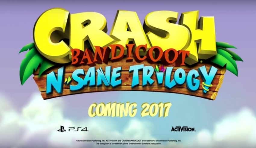 Crash Bandicoot N Sane Trilogy 850x491 - Crash Bandicoot N. Sane Trilogy - pierwszy trailer z odświeżonej trylogii Crasha na PlayStation 4!