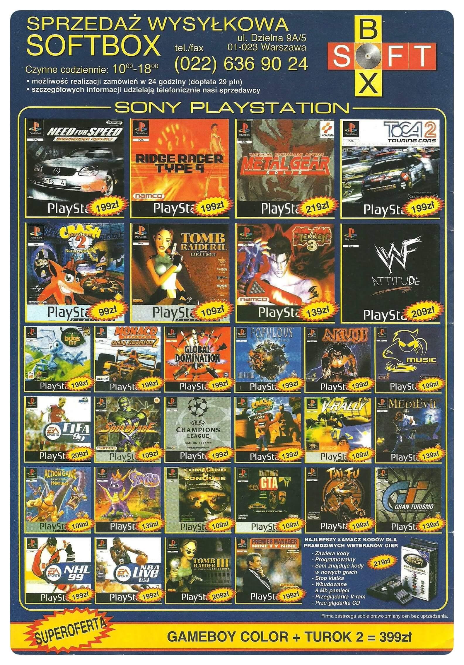 Neo Plus nr 011 19992q4 - Jak wyglądały ceny różnych konsol w Polsce w latach 1996-2006?
