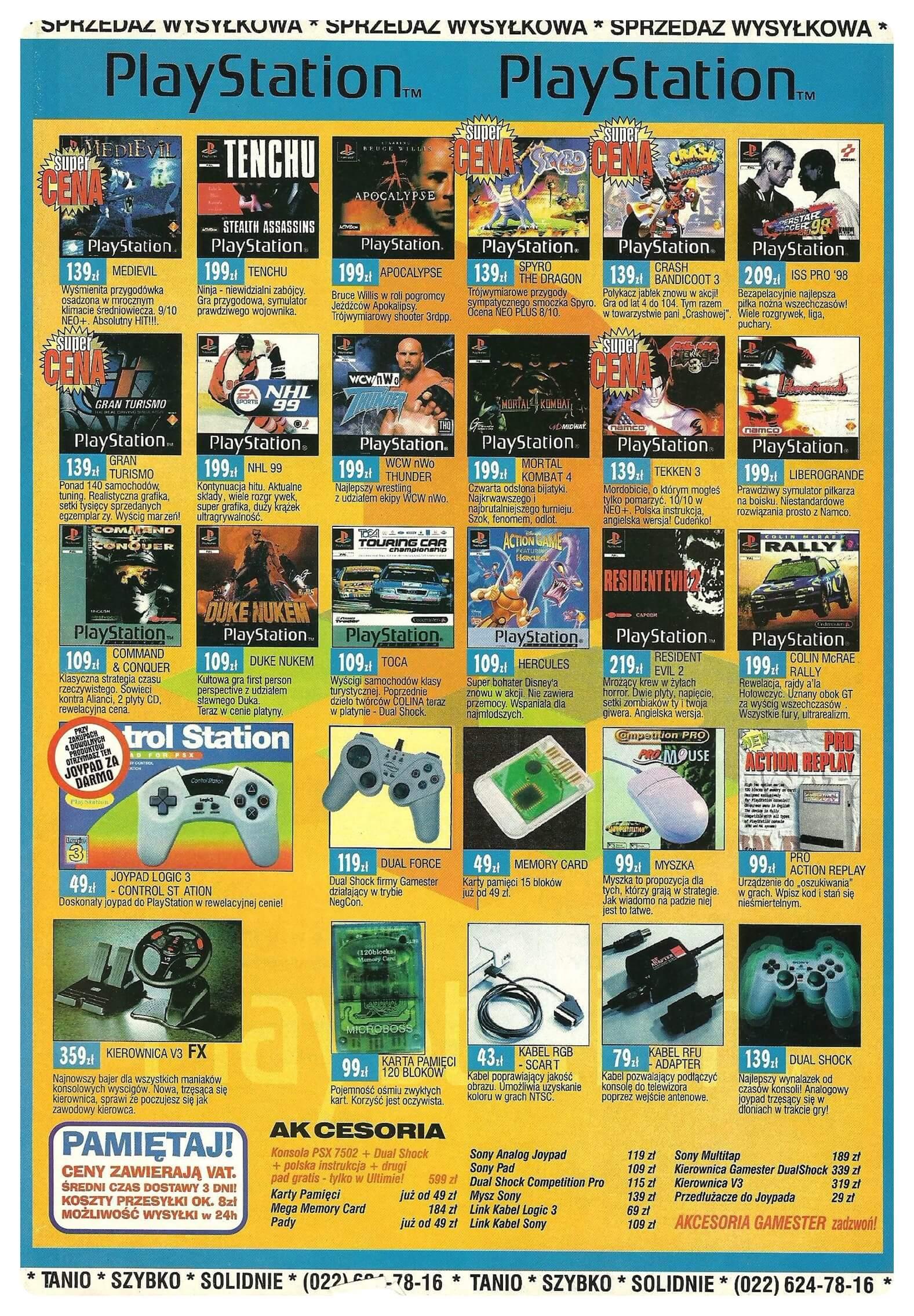 Neo Plus nr 011 199943q4 - Jak wyglądały ceny różnych konsol w Polsce w latach 1996-2006?