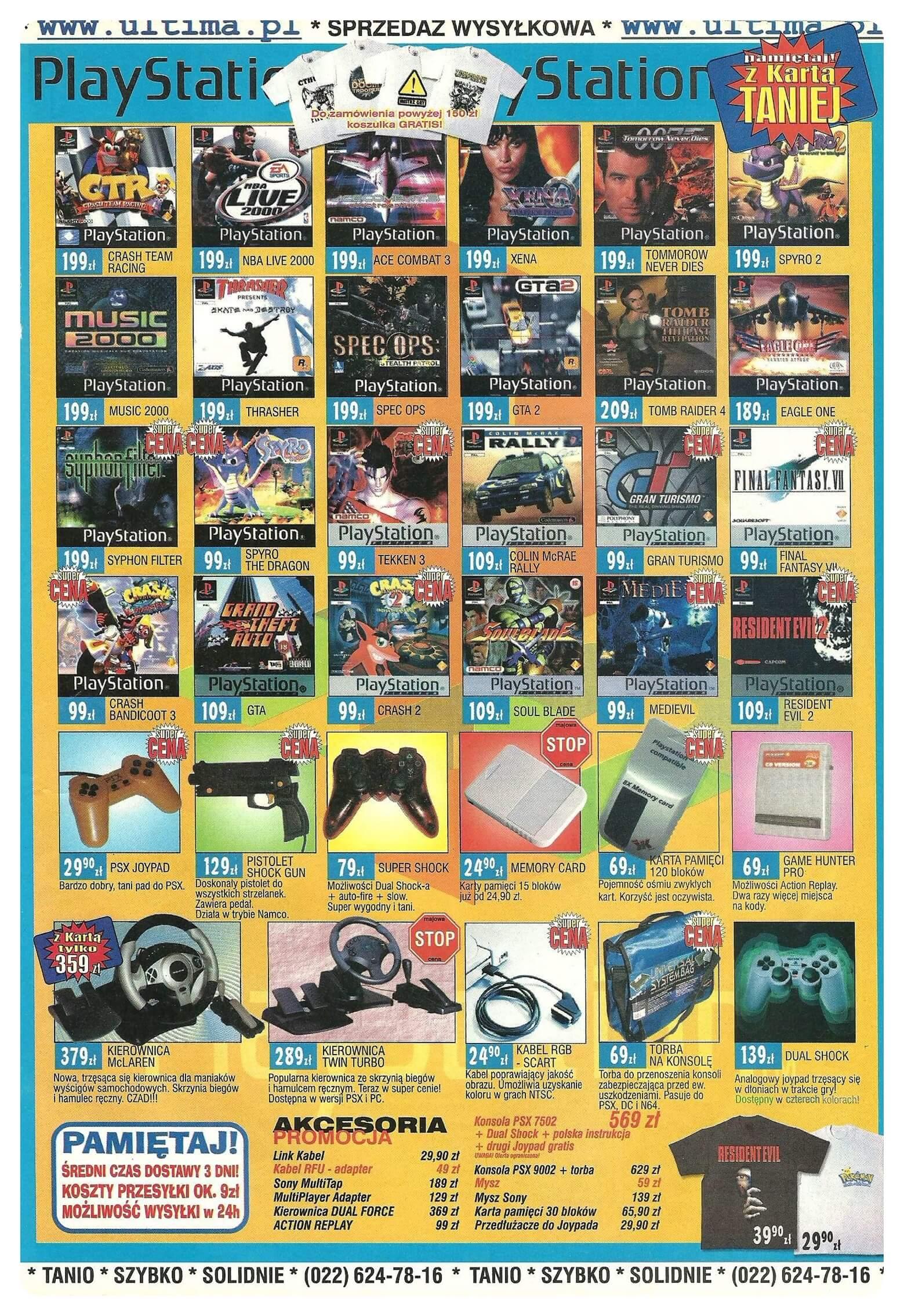 Neo Plus nr 022 200051q4 - Jak wyglądały ceny różnych konsol w Polsce w latach 1996-2006?
