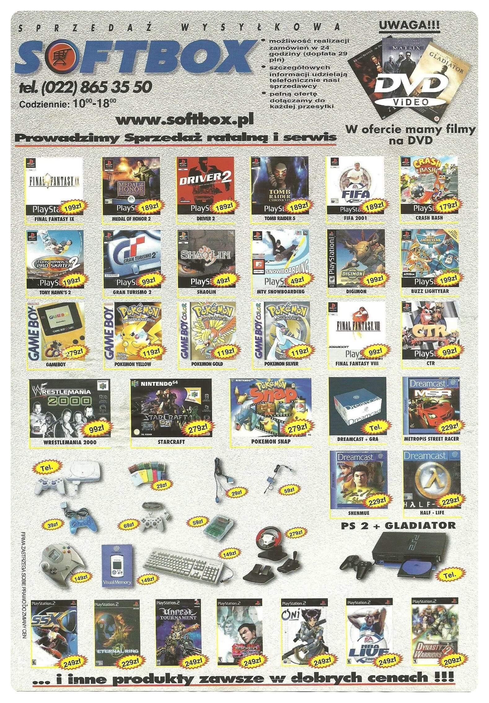Neo Plus nr 030 20012q4 - Jak wyglądały ceny różnych konsol w Polsce w latach 1996-2006?