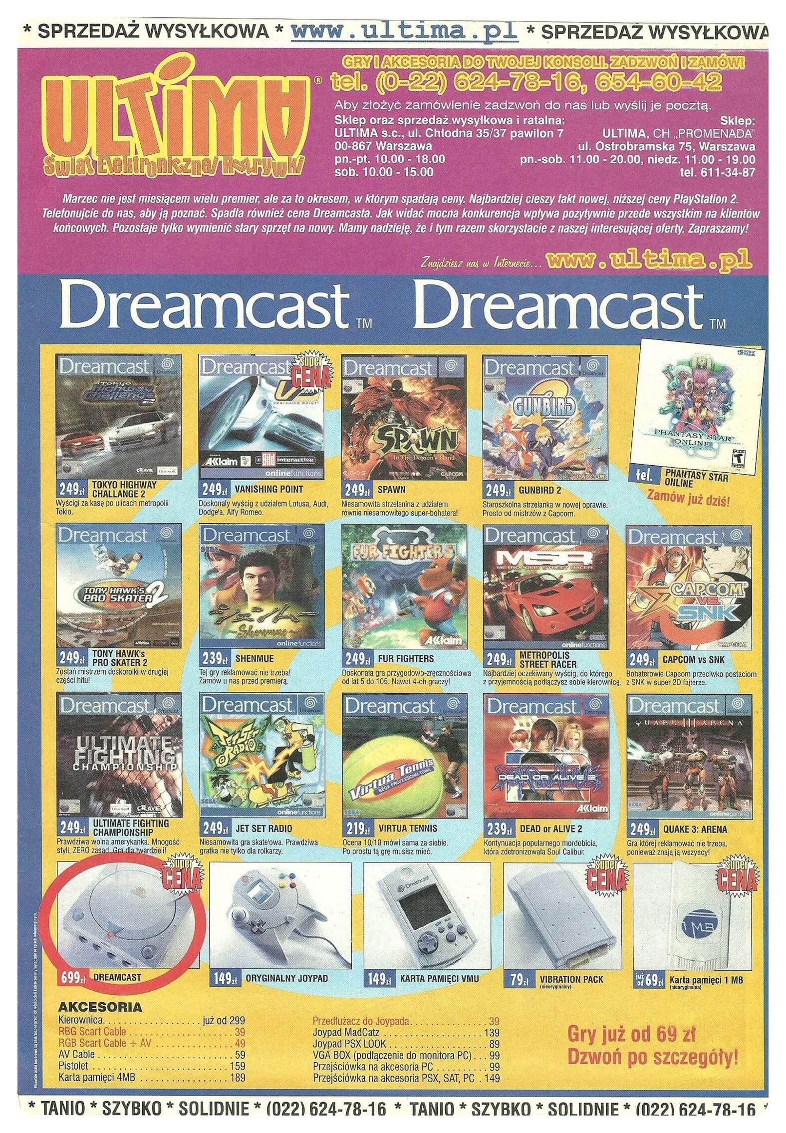 Neo Plus nr 030 200149q4 - Jak wyglądały ceny różnych konsol w Polsce w latach 1996-2006?