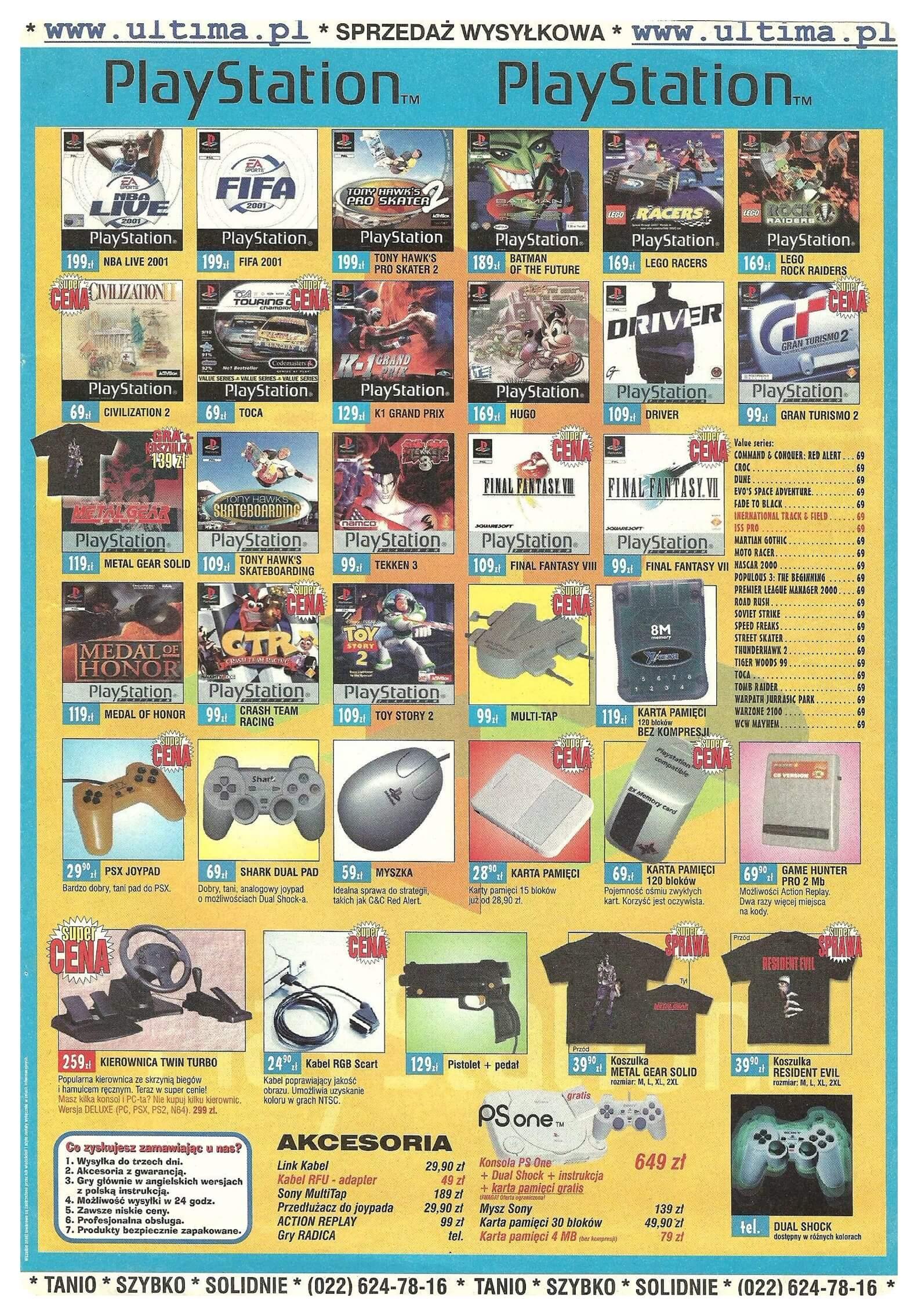 Neo Plus nr 030 200151q4 - Jak wyglądały ceny różnych konsol w Polsce w latach 1996-2006?
