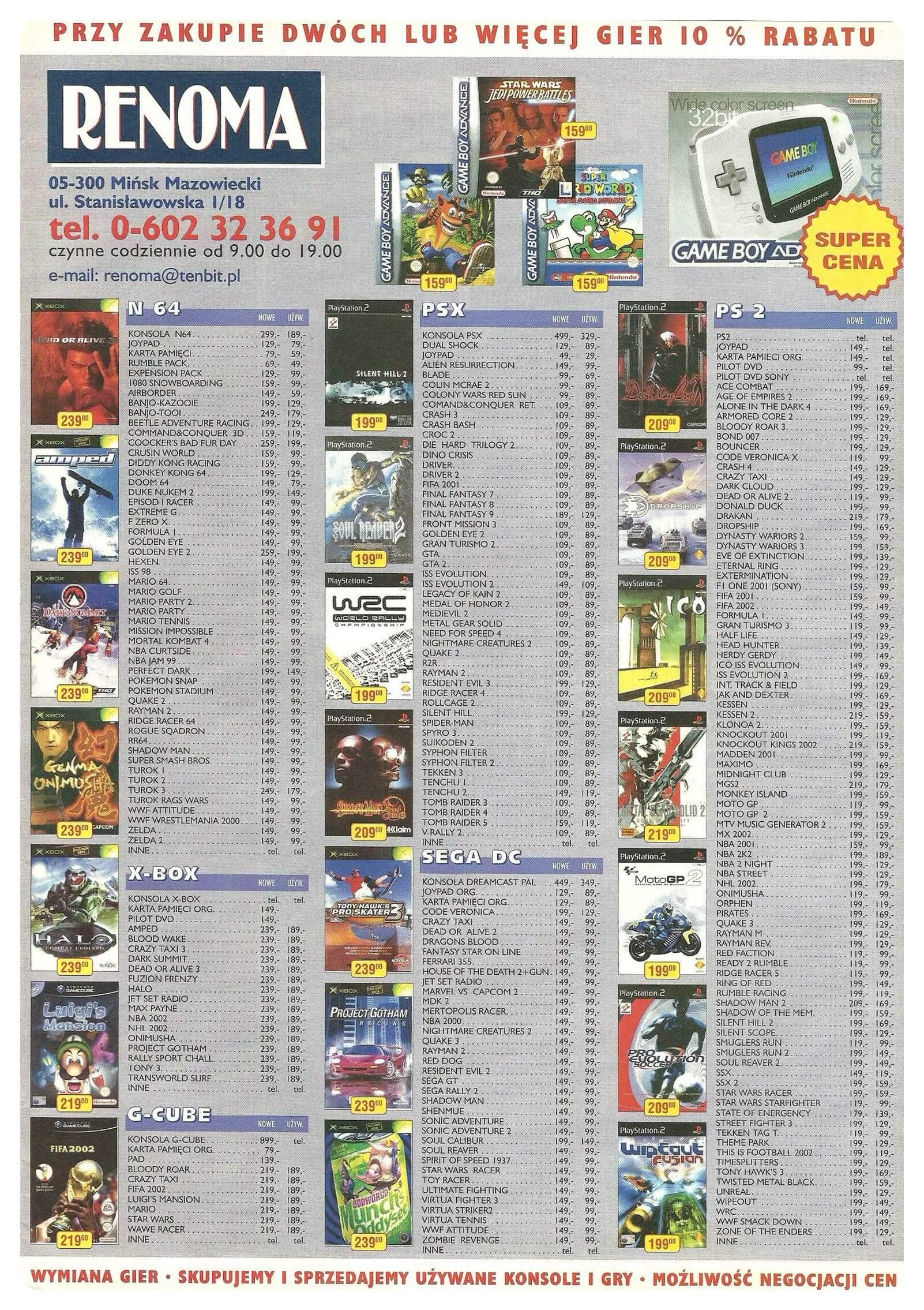 Neo Plus nr 043 20029q4 - Jak wyglądały ceny różnych konsol w Polsce w latach 1996-2006?