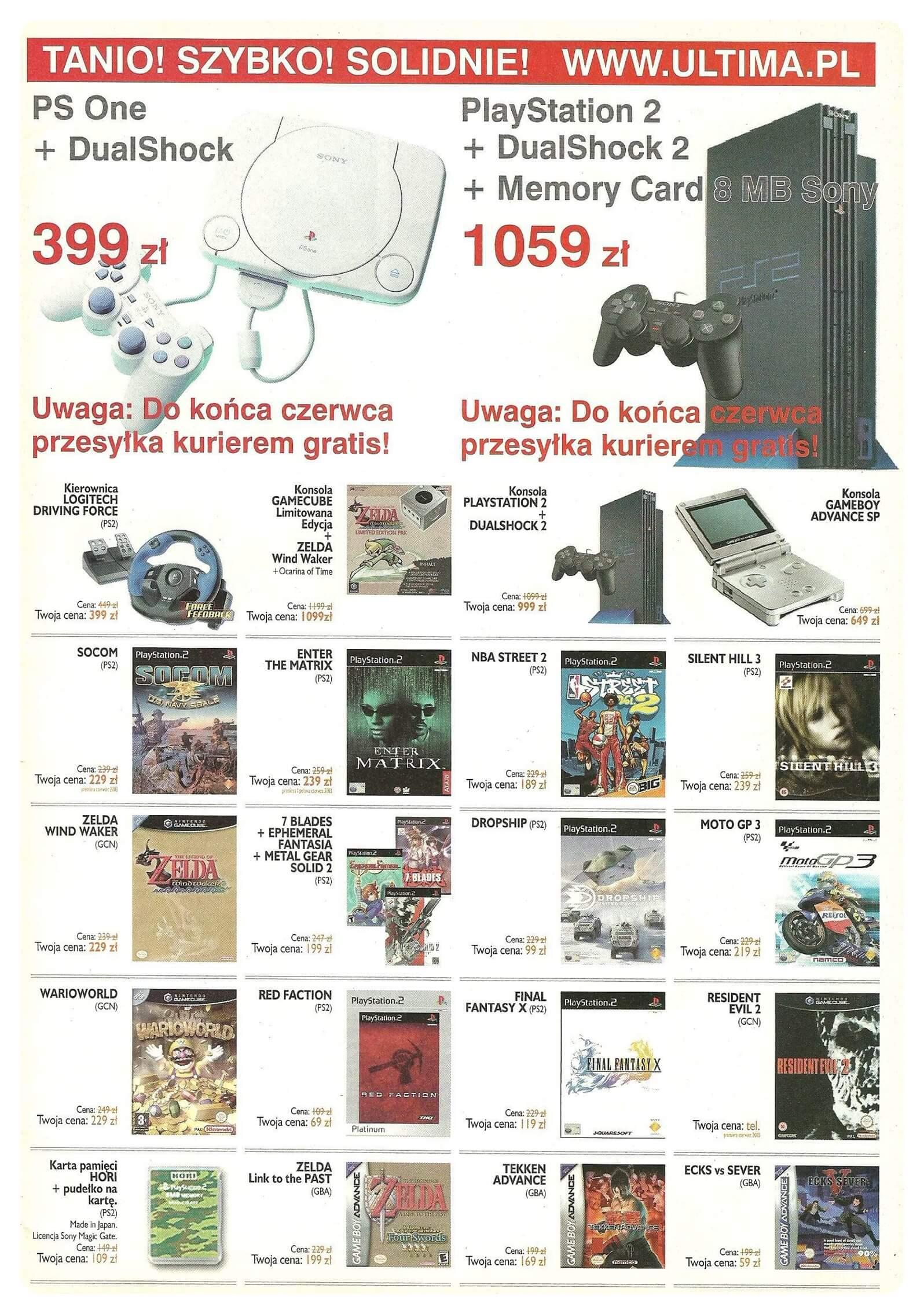 Neo Plus nr 054 20033q4 - Jak wyglądały ceny różnych konsol w Polsce w latach 1996-2006?