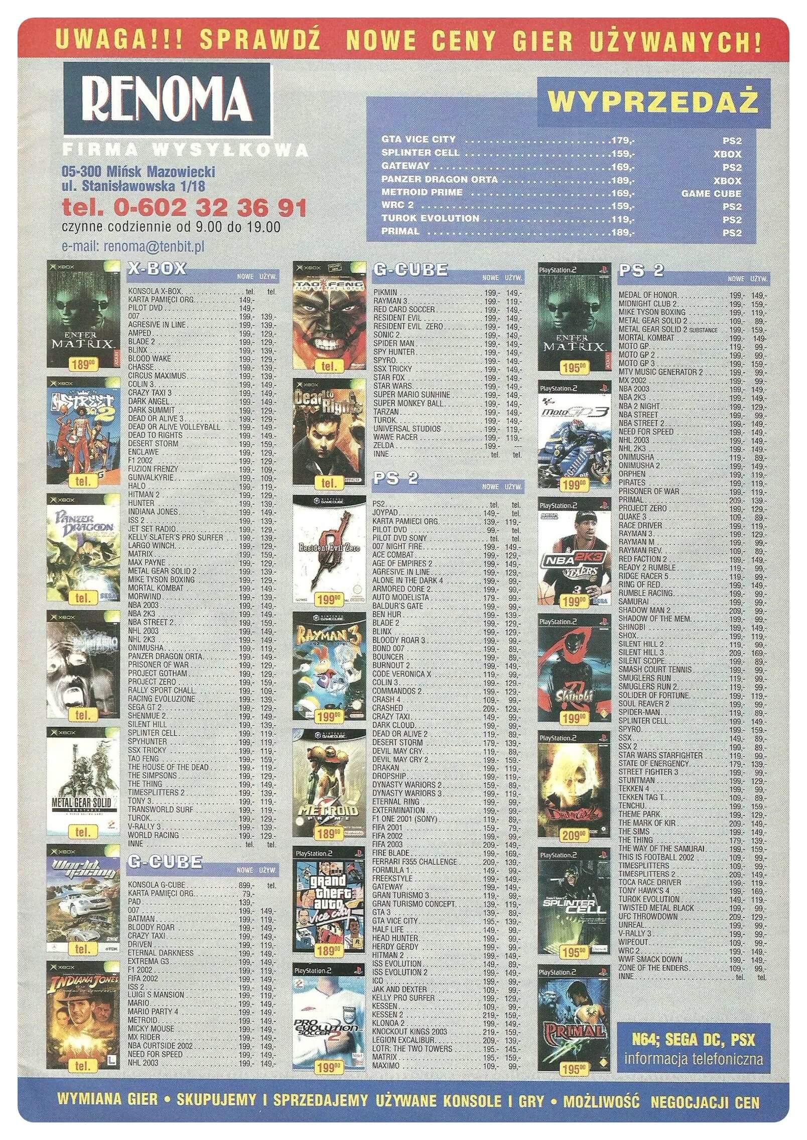 Neo Plus nr 054 20039q4 - Jak wyglądały ceny różnych konsol w Polsce w latach 1996-2006?
