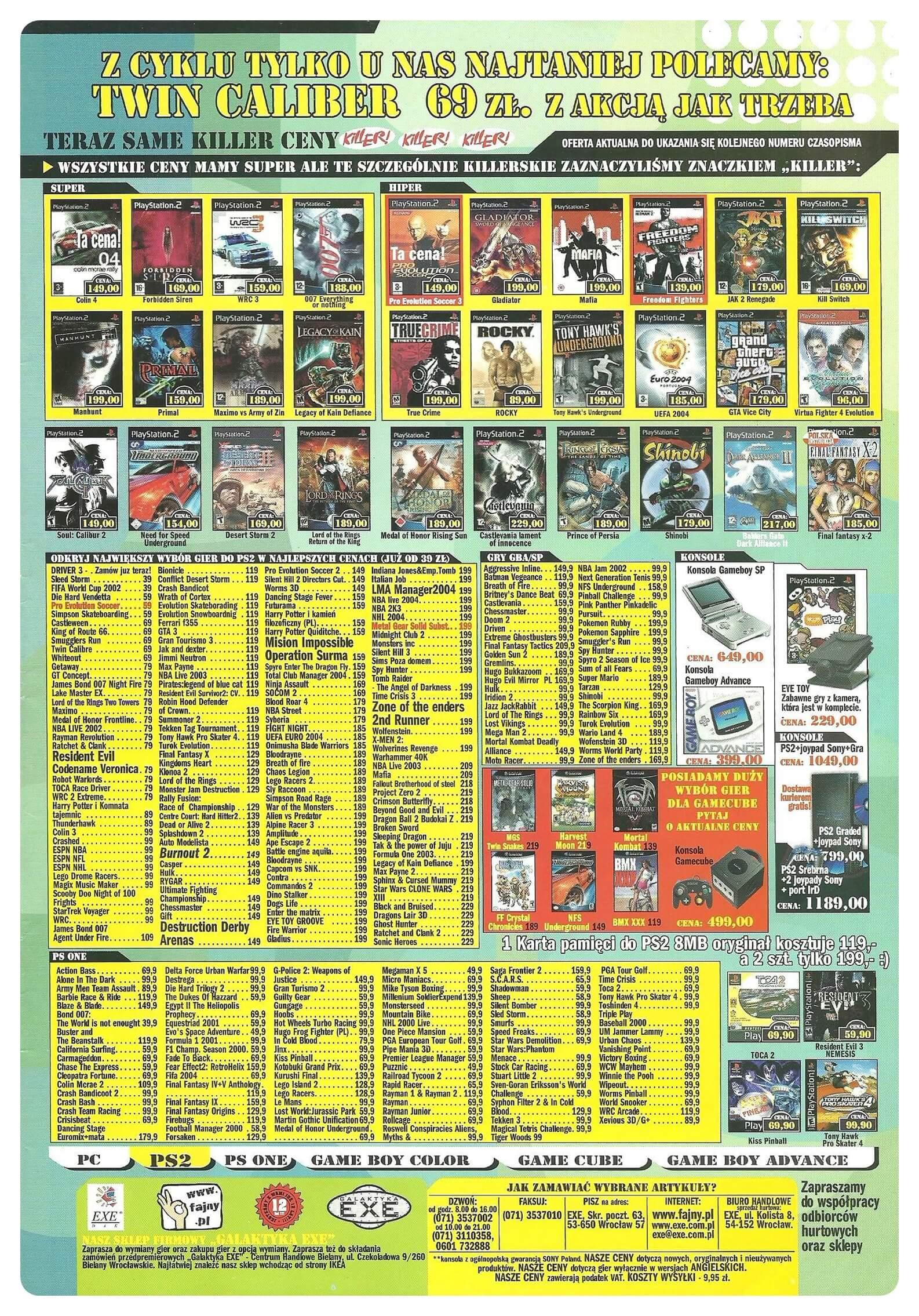 Neo Plus nr 066 200483q4 - Jak wyglądały ceny różnych konsol w Polsce w latach 1996-2006?